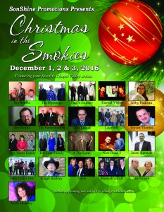 Christmas In The Smokies 2016 Session 2