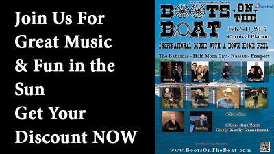 Join us For Boots On The Boat